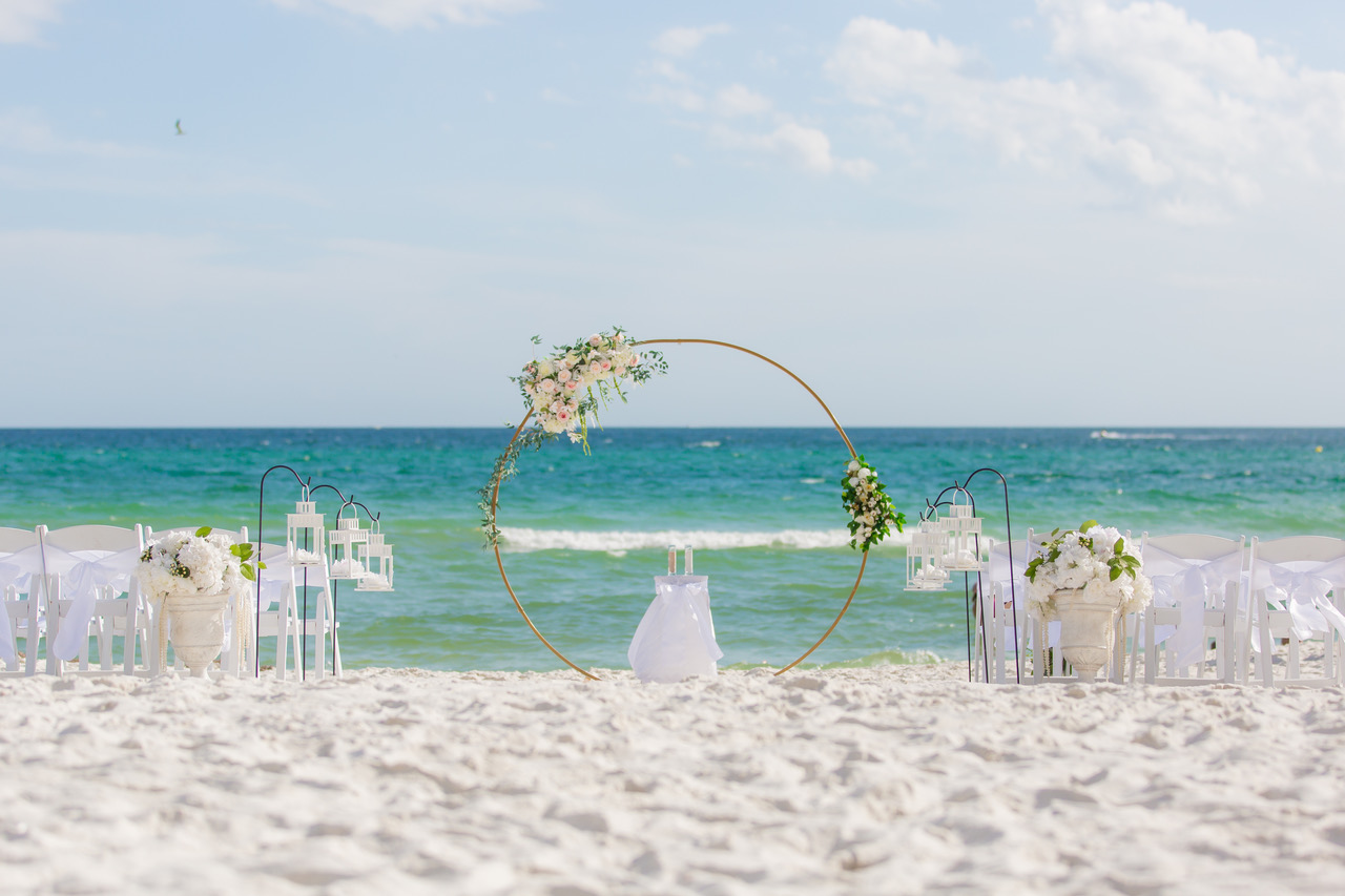 beach weddings in St Augustine